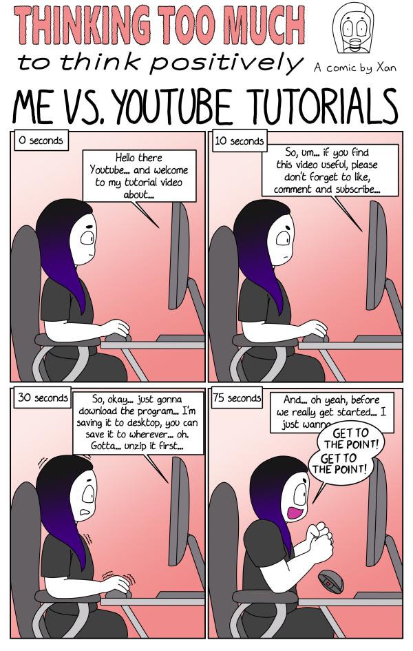 Me vs Youtube Tutorials