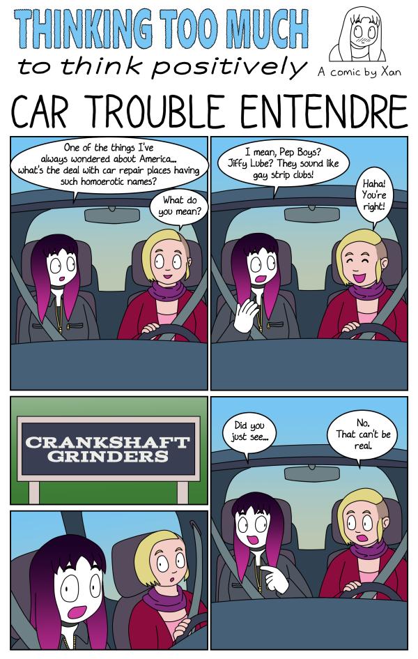 Car Trouble Entendre