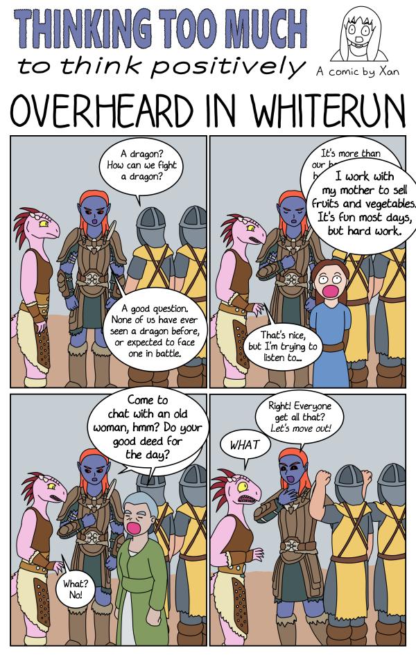 Overheard in Whiterun